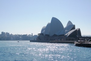 Sydney Opera House, Taken Earlier This Week