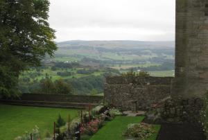 View from Bowling Green Garden, Stirling Castle