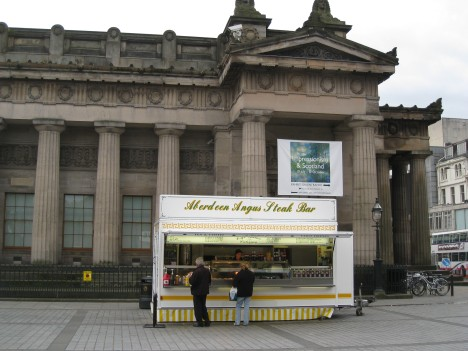 National Gallery (& Aberdeen Angus Beef Kiosk), Edinburgh
