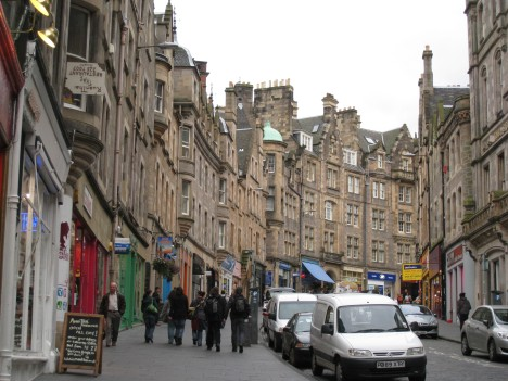 Cockburn Street, near Edinburgh Castle