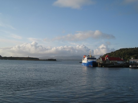 Island Ferry, Oban, West Coast