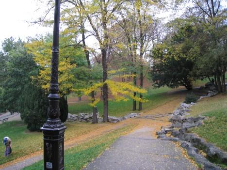 Parc des Buttes Chaumont, late October