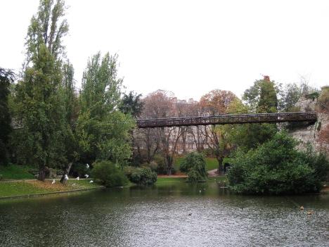 Suspension Bridge, Parc des Buttes Chaumont