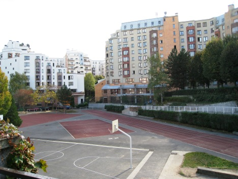 Housing Estate near Canal St.-Martin, Paris