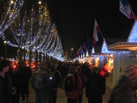 Marché de Noel, Champs-Elysées, Paris