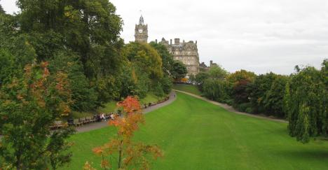 Princes Garden, Edinburgh