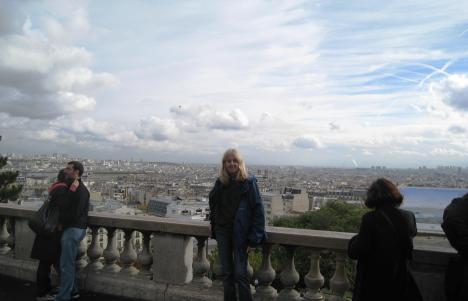 Sacré-Coeur View, Montmartre