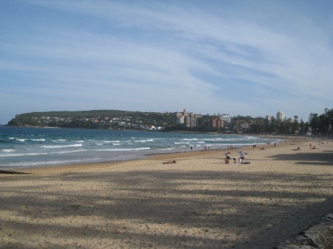 Manly Beach, Sydney, Tuesday Evening