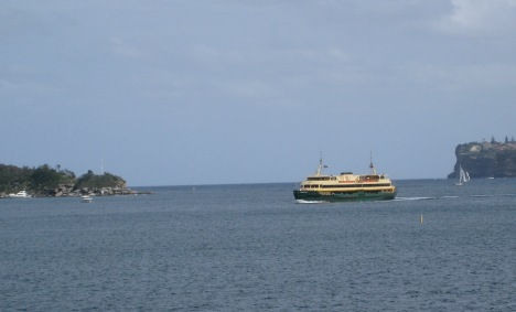 Manly Ferry Crossing the Heads, Sydney Harbour
