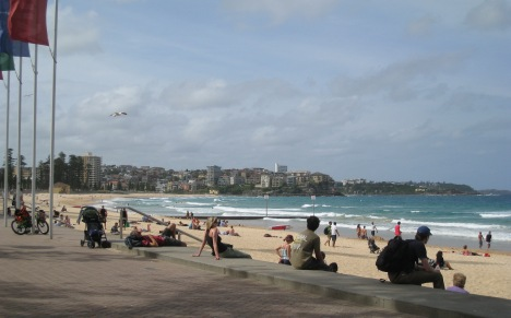 Manly Beach, Late Thursday Afternoon