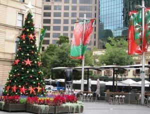 Happy Christmas at Circular Quay, Sydney