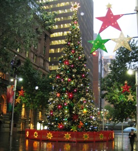 Christmas Tree at Martin Place, Sydney