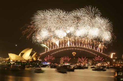 Sydney New Year 2007, from Sydney Morning Herald