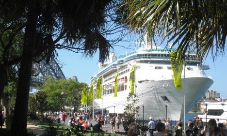 Cruise Ship at Circular Quay, Sydney