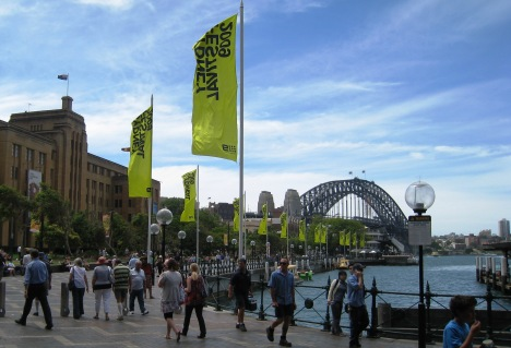 Sydney Museum of Contemporary Art and Harbour Bridge