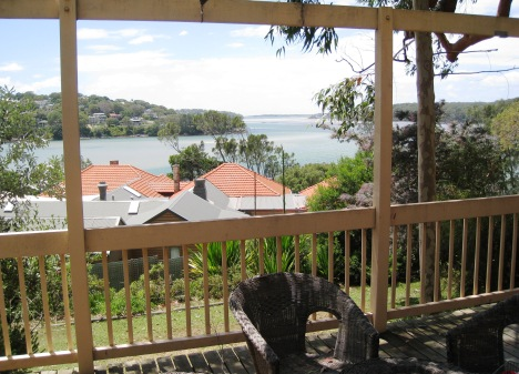 Port Hacking, from Clive's Daughter's Balcony