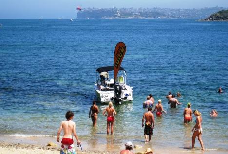Juice Boat, Fairilght Beach, Sydney Harbour