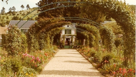 Path Leading to Monet's House, Giverny, France