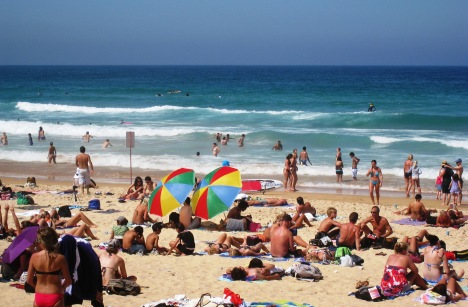 Manly Beach on a Summer Afternoon
