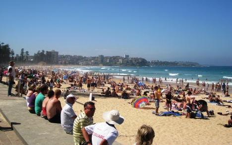 Manly Beach, Looking North towards Queenscliff