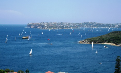 Last Day of Summer on Sydney Harbour
