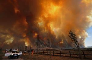 Bushfires, Victoria, Australia