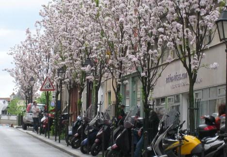 Side Street in Butte aux Cailles, Paris