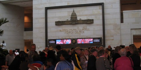 A Popular Destination - U.S. Capitol