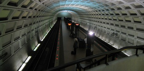 Wahington's Dimly-Lit Metro Stations