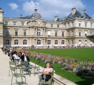 Locals at the Jardin du Luxembourg