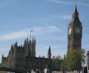 Big Ben from Westminster Pier, London