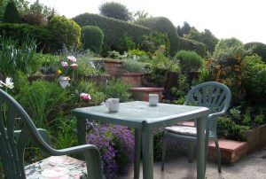 Back Garden at Our B&B, Suffolk