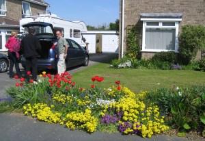 Cousins' Front Garden, Felixstowe
