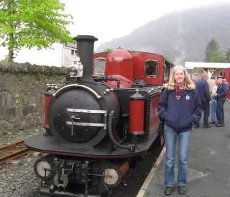 Ffestiniog Railway, Blaenau Ffestiniog, Gwynedd