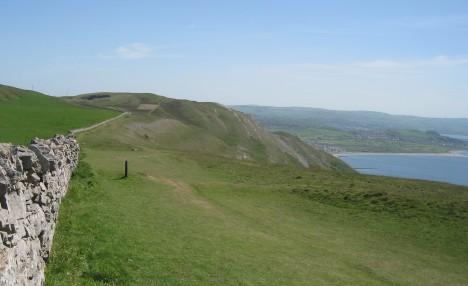 Footpath, south side of Great Orme