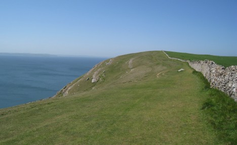 Stone wall, south side of Great Orme