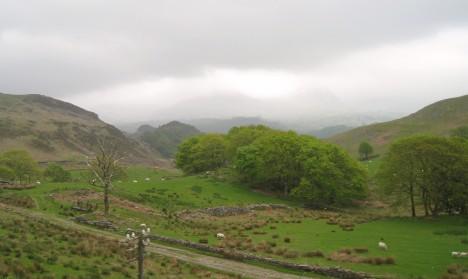 Welsh countryside near Blaenau Ffestiniog