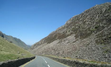 Llanberis Pass, Gwynedd