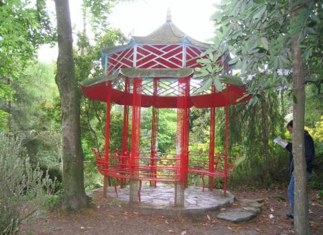 Garden gazebo, Portmeirion
