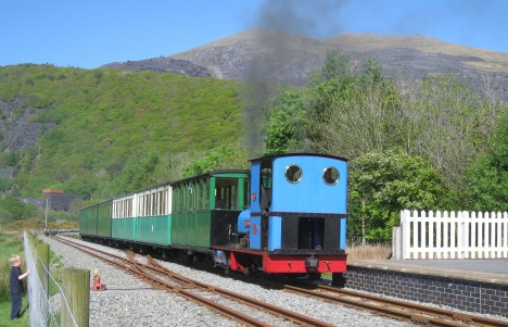 Llanberis Lake Railway (and little boy who reminded me of my son)