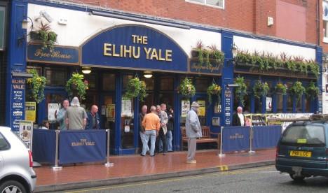 Elihu Yale pub, Wrexham, Wales