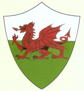Y Ddraid Goch, the Red Dragon of Wales