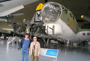 Clive, Jack, and Flying Fortress, Duxford