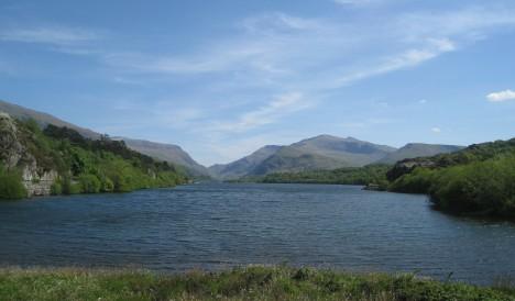 Llyn (Lake) Padarn, Llanberis, Wales