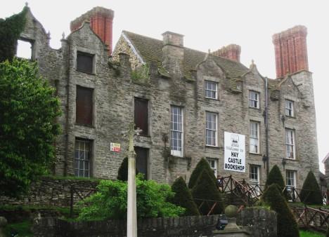 Hay Castle Books, Hay-on-Wye, Wales