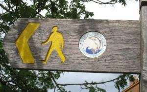 Wye Valley Walk, Hay-on-Wye, Wales