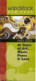 Woodstock NY 1969-2009 Guide