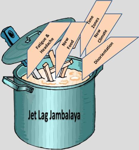 Jet Lag Jambalaya