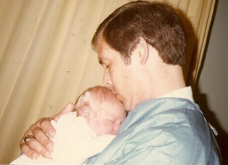 Father and son, 6 August 1985