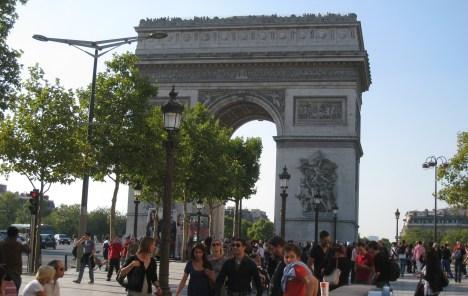 Arc de Triomphe and the Champs-Élysées, Paris